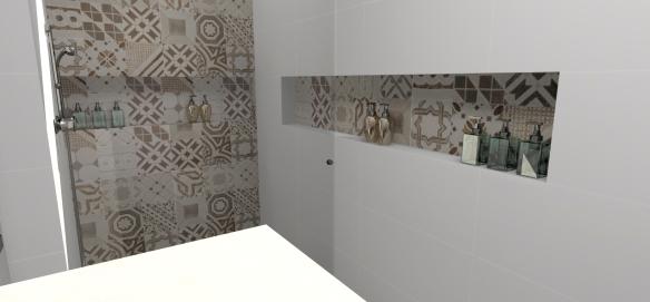 Quero luxo, quero nicho!  Marmoraria em São Paulo -> Nicho Banheiro Dimensões
